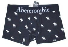 MENS ABERCROMBIE & FITCH MOOSE NAVY BLUE BOXER BRIEF SIZE S