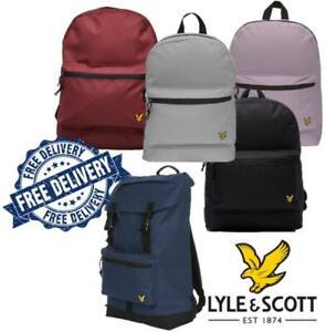 Lyle & Scott Unisex BackPacks Gym Bag Travel Holiday BackPack Various Colours