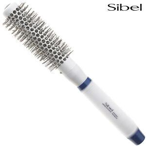 Sibel Round Hair Brushes Professional Ceramic/Ionic/Tourmaline & Silicon Handle