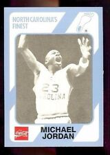 1989 Michael Jordan North Carolina's Finest Coca-Cola #65 (Q)