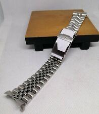 Seiko 22mm Herren Größe Edelstahl Jubilee Armband gefaltet Typ