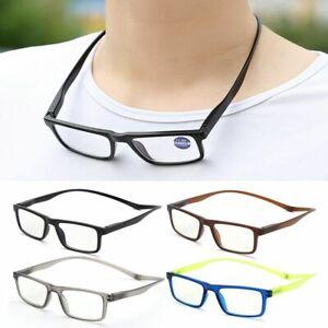 Magnet  Reading Glasses Presbyopic Eyeglasses Vision Care Magnetic Hanging Neck