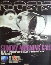 Oasis 2000 Poster Ad Sunday Morning Call