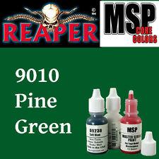 PINE GREEN 9010 - MSP core 15ml 1/2oz paint peinture figurine REAPER MINIATURE