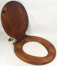 antique wood toilet seat oak 1900