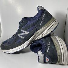 New Balance 990 M990NV4 Navy Running Shoes US Men's Size 13 Width 2A