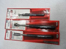 Craftsman Telescopic Mag Magnetic Pick Up Tool Light Set, made in USA - 3 pcs