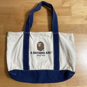 A Bathing Ape BAPE Unisex Side Tote Bag READ DESCRIPTION MOOK