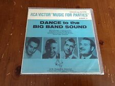 Dance to the Big Band Sound EP 45 RPM RCA Victor Records Album #4