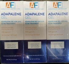 AF Adapalene Gel 0.1% 0.5oz (3 Boxes)
