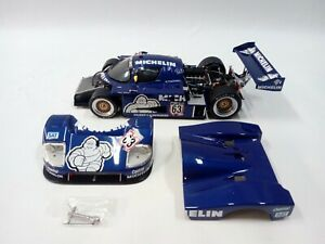 EXOTO 1:18 1987 SAUBER-MERCEDES C9 #63 MICHELIN GERMAN SUPER CUP  RLG18191