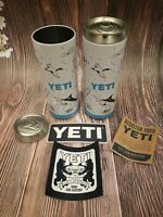 2 YETI Slim Pop Top Empty Insert Stash Can 12oz Tall Colster Storage Container