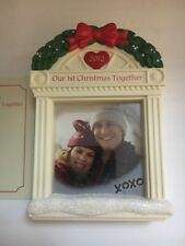 Our First Christmas 2012 Photo Frame Tree Hallmark Keepsake Ornament New In Box