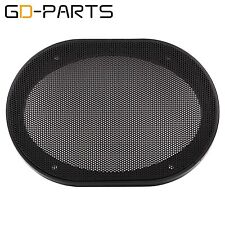 "GD-PARTS 2PCS 5""x7"" Speaker Covers Steel Mesh Grill Car Audio Decorative Circle"