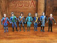 Thunderbirds Are Go Action Figure Bundle - Tracy Brothers The Hood Kayo (B)