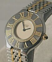 Cartier Must de Cartier 21 Vintage 1990's Swiss Made Quartz Mens Watch ....31mm