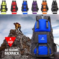 New 50L Waterproof Backpack Camping Bag Outdoor Travel Hike Mountaineering Pack