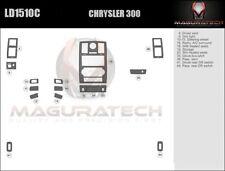 Fits Chrysler 300 2008-2010 Basic Wood Dash Trim Kit