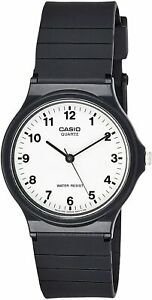 Casio Women's MQ24-7B Classic Black Resin Watch