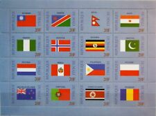 MALI 1999 2279-78 1058-63 Flags of the World Flaggen UNO UN United Nations MNH