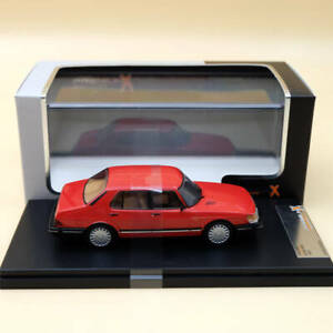 1:43 Premium X SAAB 900i 1987 Red PRD449 Model Limited Diecast Collection Gifts