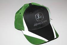 "JOHN DEERE CINCINNATI CHROME LOGO REFLECTIVE STRIPE CAP HAT ""Gateway to Growth"""