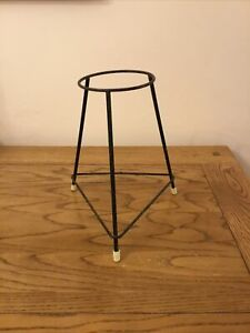 Vintage Retro Quirky Small Metal Indoor Outdoor Plant Pot Stand
