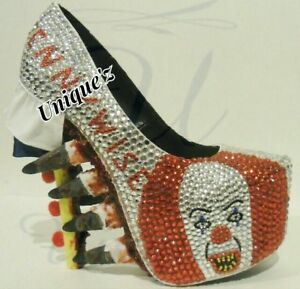 """Stephen King's """"3D Pennywise"""" Heels"""
