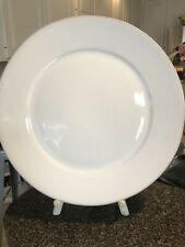 Dansk White Charger Plate 13 3/8 Inches Lot Of 7