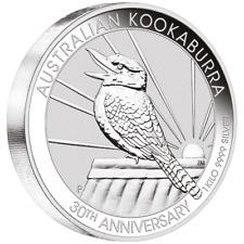 Australien - 30 Dollar 2020 - Kookaburra - 30. Jubiläum - 1 Kilo Silber ST