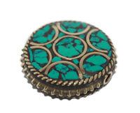 Nepalese Beads Handmade Beads Gypsy Turquoise beads Tribal beads Tibetan beads