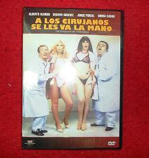 A los cirujanos se les va la mano  MOVIE DVD ALBERTO OLMEDO JORGE PORCEL CASAN