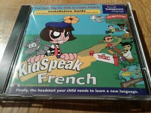 Transparent Language KidSpeak French for PC, Mac