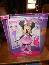2016 mattel disney minnie bloomin bows works good is in the box used