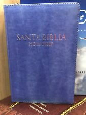 Biblia Bilingue/bilingual Reina Valera /kjv Con Cierre Indice Lila TAMA.MANUAL