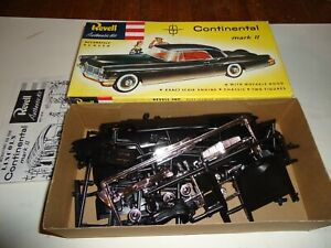 REVELL 1/32 1995 ISSUE 1956 CONTINENTAL MKII UNBUILT MODEL KIT  EXCELLENT