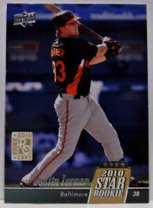 2010 Upper Deck Justin Turner Rookie Card RC #39 Orioles Los Angeles Dodgers