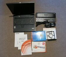 Toshiba Satellite Pro 6100 UXGA Laptop Docking Station Software Set Vintage Rare