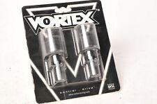 Vortex Racing BE512K Bar End Slider - Black - Suzuki GSX-R1000 R600 R750 SV650 +