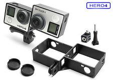 3d frame & Tripod Mount F. GoPro go pro Hero 4 accesorios trípode adaptador marco