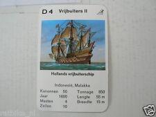 67-PIRATEN,PIRATES,D4 VRIJBUITERS II HOLLANDS VRIJBUITERSCHIP