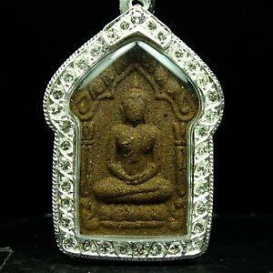Rare Beautiful Phra Khun Paen Prai Supannika (Mae Eurng Kham) ,Silver Trakut.
