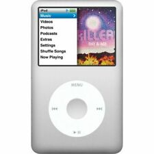 """New Apple iPod Classic 7th Gen 120GB MP3/4 Player Silver - """"Sealed"""""""