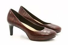 Rockport Adidas Adiprene Womens Pumps Heels Dress Shoes Size 7 Leather Croc Emb