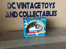 VINTAGE ILLCO WALT DISNEYS CAP'N MICKEY'S MOTOR BOAT UNUSED IN BOX MICKEY MOUSE