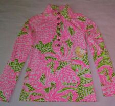 Lilly Pulitzer Pink Sunset Home Slice UPF 50 Captain Popover XL