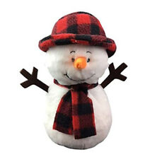 Stuffems Toy Shop Record Your Own Plush 16 inch Blizzard The Snowman - Ready to