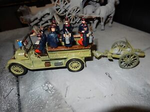 """WWI FRENCH MARINE ARTILLERY LORRY """"Towed March Order"""""""