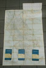 4 maps Touring Club Italiano EUROPE road map scale 1: 500.000 74 x 123 cm