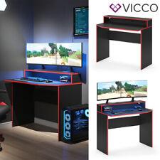 Gaming Desk Schreibtisch Kron 100cm Gamer PC Tisch Computertisch Bürotisch Vicco